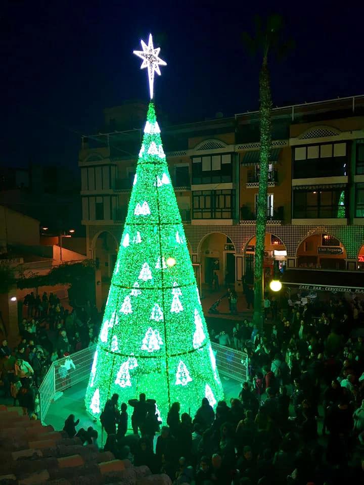 20191215.- Encendido arbol Navidad