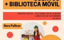 201912223.- Biblioteca movil y cuentacuentos Nora