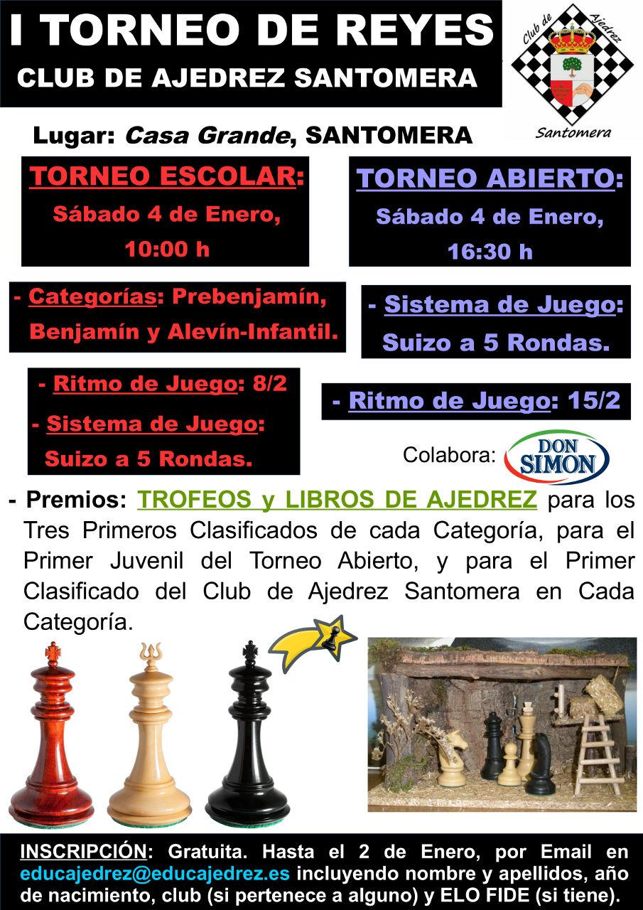 20200104.- I Torneo de Reyes Ajedrez