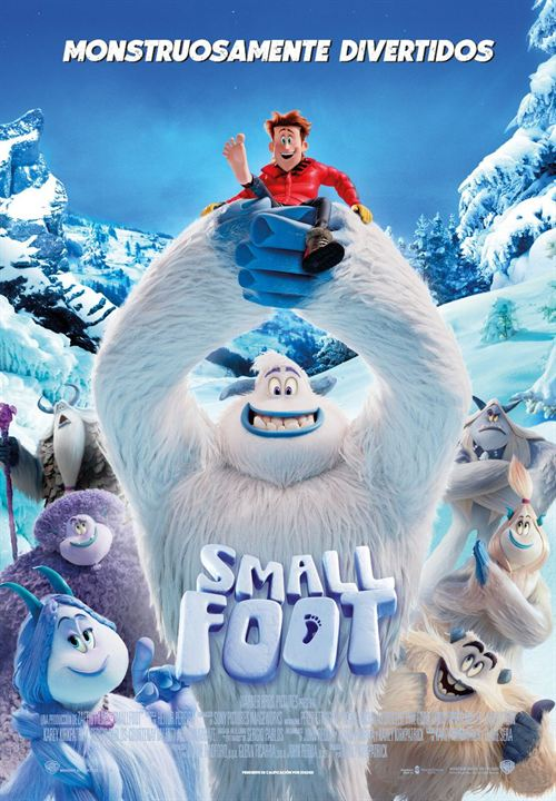Poster pelicula_Small foot