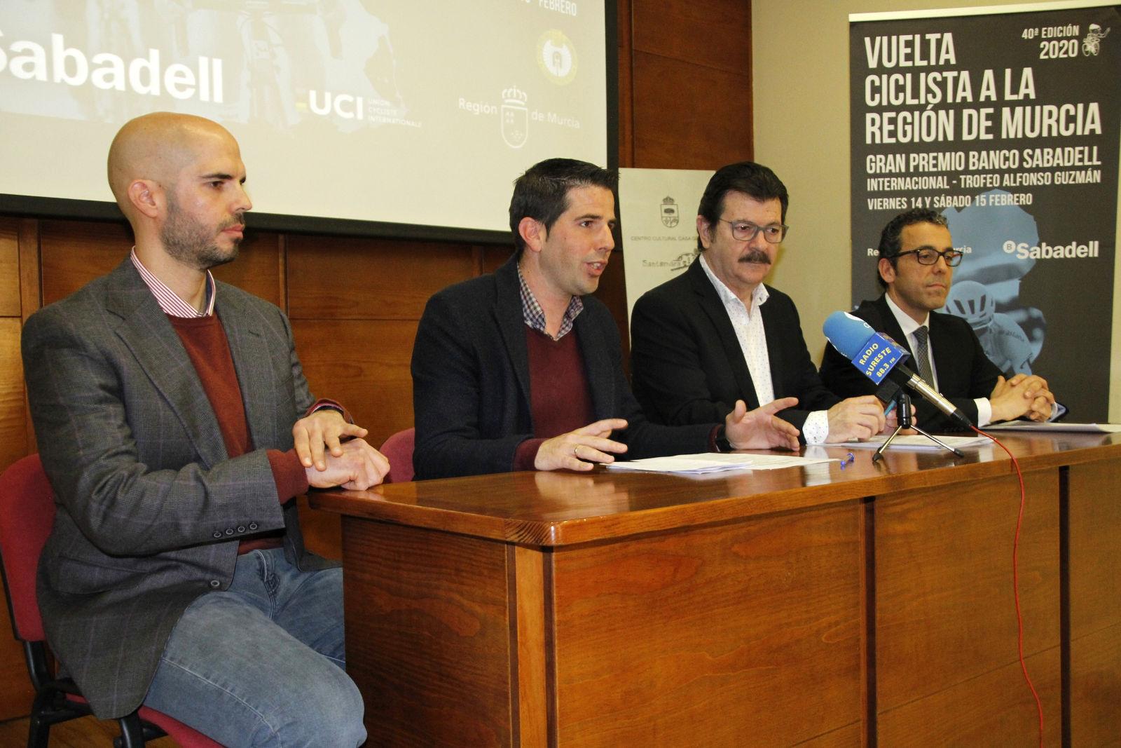 20200117_Presentacion Vuelta Ciclista a Murcia