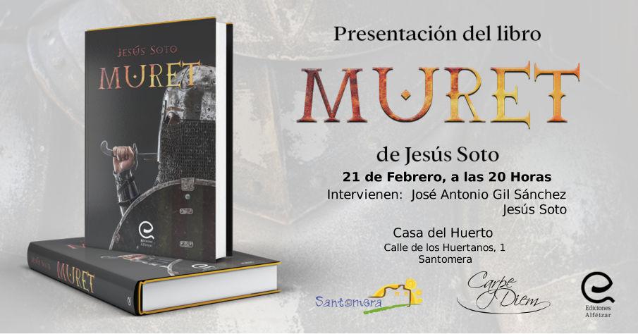 20200221_ Presentacion literaria, Muret, de Jesus Soto