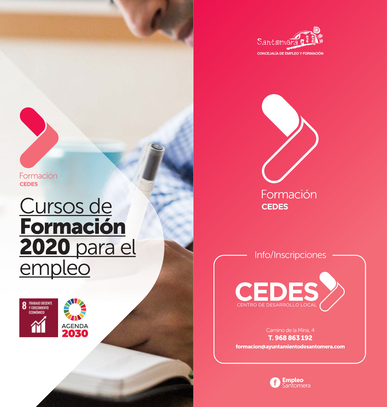 202001_Triptico cursos Cedes 2020 cartel