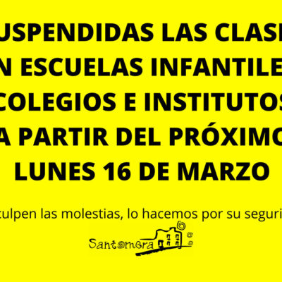 20200312_Cierre centros educativos