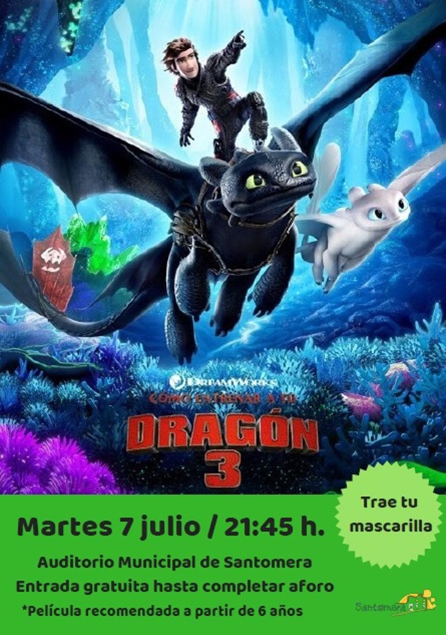 20200707_Cine de Verano_Como entrenar a tu dragon 3