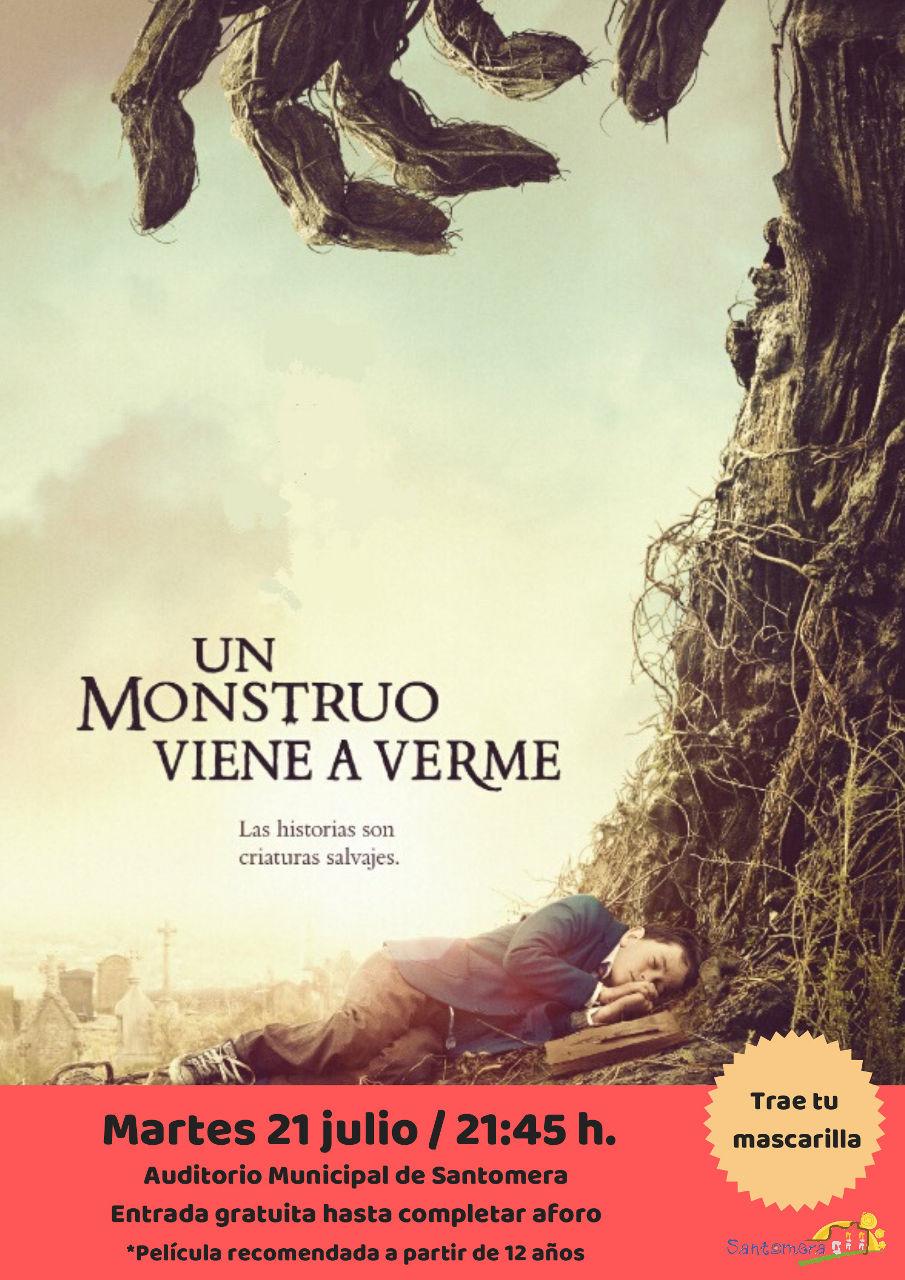 20200721_Cine de Verano_Un monstruo viene a verme