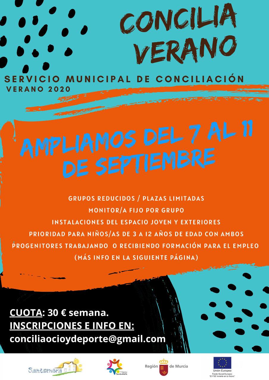 20200907_Cartel ampliacion Concilia Verano_01
