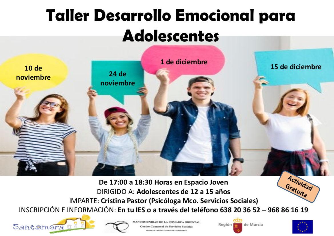 20201021_Taller Desarrollo emocional adolescentes