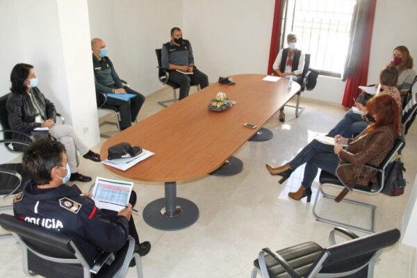 20201027_Mesa coordinacion policial Viogen