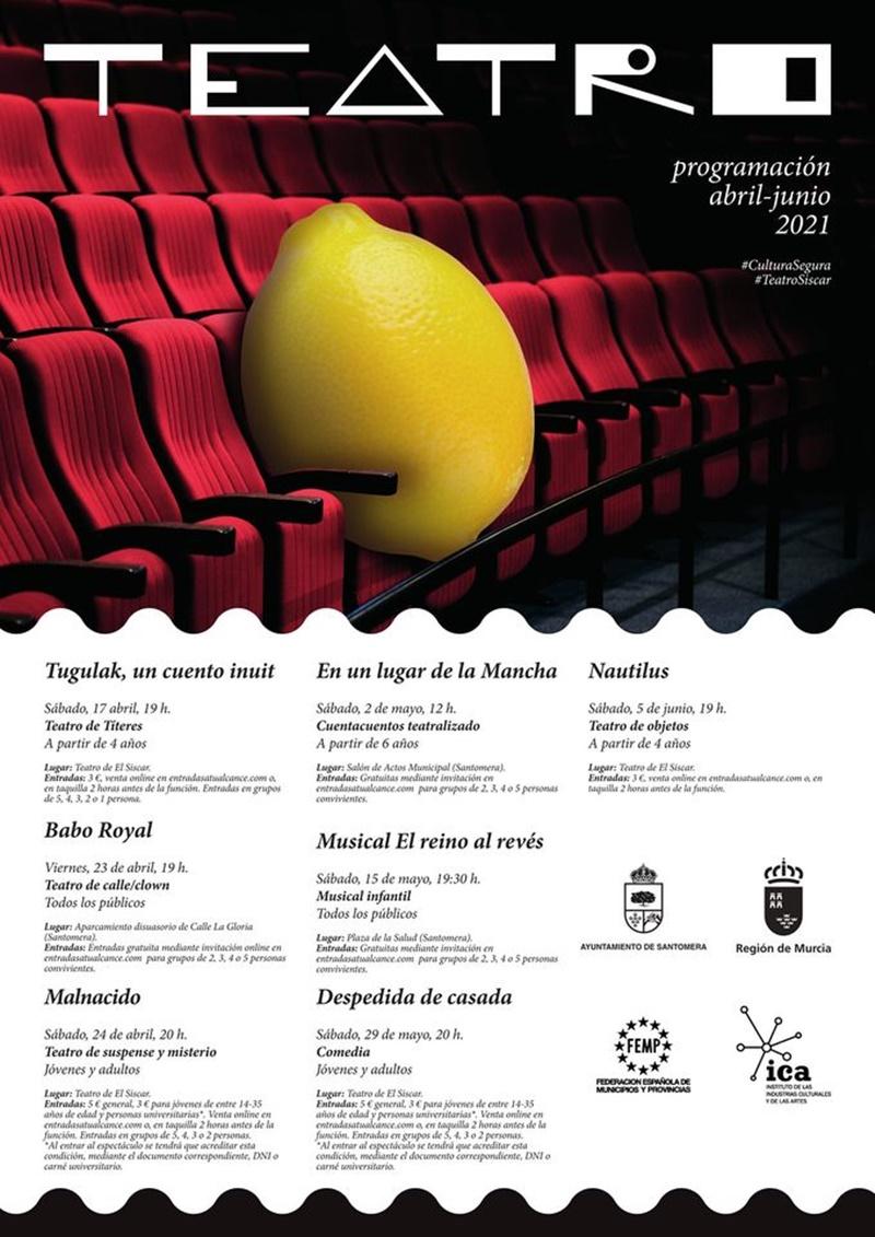 teatro programación